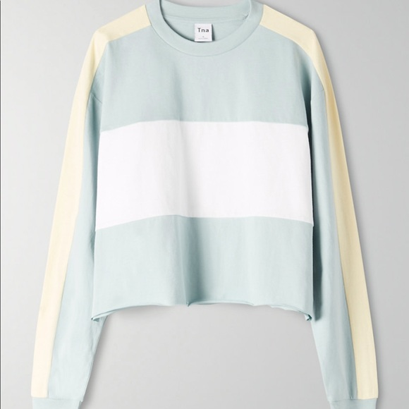 Tna Cropped, long-sleeve t-shirt from Aritzia
